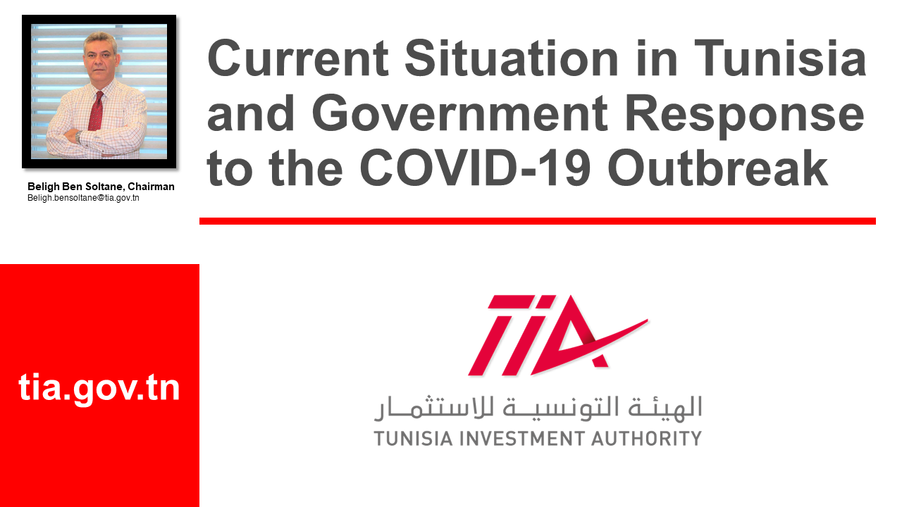 Webinar on Doing Business in Tunisia in Times of COVID-19 and Beyond